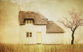 Картинка дом, стиль, фон