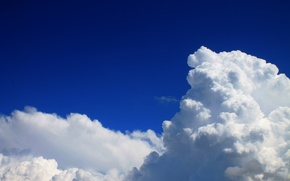 Картинка небо, облака, синева