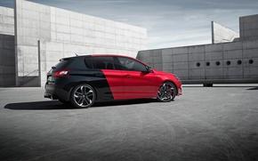 Обои GTi, пежо, 2015, 308, Peugeot