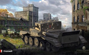 Картинка world of tanks, средний танк, мир танков, Cromwell, Британия.