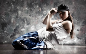 Обои стиль, девушка, dance, спорт, движение, танец