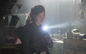 Картинка фонарик, The Walking Dead, Ходячие мертвецы, Christian Serratos, Rosita