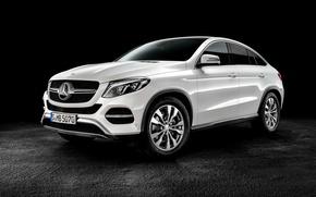 Картинка Mercedes-Benz, мерседес, Coupe, амг, бенц, 2015, C292, GLE-Klasse