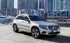 Обои Mercedes-Benz, внедорожник, мерседес, X253, GLC-Class