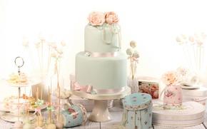 Картинка праздник, конфеты, торт, свадьба, сладкое, декор