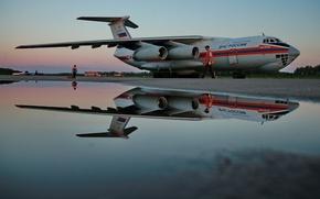 Картинка Россия, самолёт, МЧС, Ил-76, Грузовой