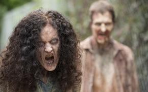 Картинка The walking dead, zombies, grimy fabrics