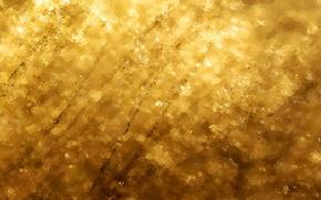 Картинка вода, желтый, золото