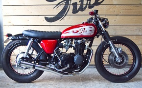 Картинка honda, motorcycle, cafe racer