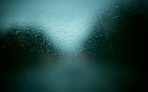 Обои стекло, текстуры, окно, машина, погода, дождь, капли
