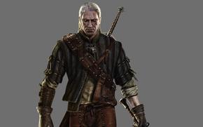 Картинка Ведьмак, Геральд, Глаза., Witcher 2: Assassins of Kings