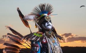 Картинка dancer, Northwest Territories, aboriginal, The Freedom of Flight