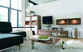 Картинка стиль, интерьер, дом, квартира, жилая комната, дизайн