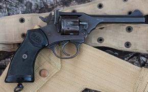 Картинка револьвер, 1944, Webley, Mark IV