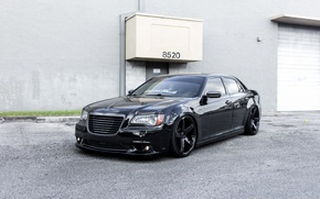 Картинка Chrysler, 300C, Black, Wheels, Concavo