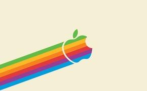 Картинка цвет, apple, минимализм