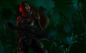 Картинка рыжая, снайпер, Caitlyn, Special Ops
