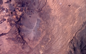 Картинка Earth from space, Chad, Crater