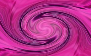 Картинка абстракция, фон, розовый, обои, спираль, ярко