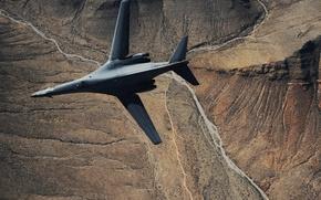 Картинка Lancer, бомбардировщик, B-1, Rockwell