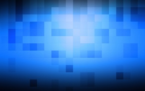 Картинка кубы, кубики, текстура, квадраты, текстуры, синий фон