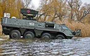Картинка Украина, плавание, БТР 4, боевой модуль