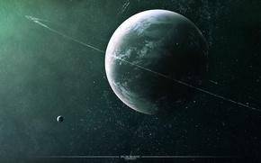 Картинка космос, планета, звёзды, space, stars, planet