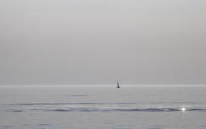 Картинка Lake Michigan, South Haven, Sailing Solo