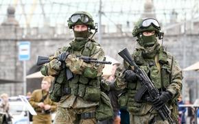 Картинка армия, солдаты, Россия, АК-74М