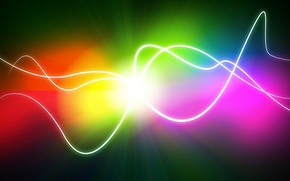 Обои линии, цвет, точка