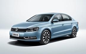 Картинка Volkswagen, фольксваген, пассат, 2013, Passat, CN-spec, BlueMotion