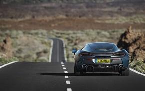 Картинка дорога, McLaren, автомобиль, вид сзади, макларен, 570GT