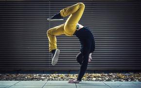Обои гимнаст, танец, Dimitri Petrowski