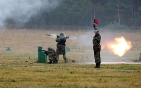 Картинка огонь, учения, пехота