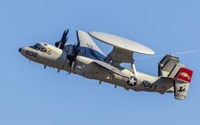 Картинка самолёт, Hawkeye, E-2D