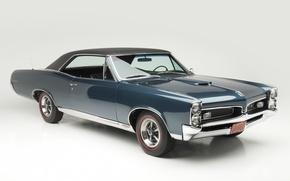 Картинка фон, Coupe, Pontiac, GTO, Понтиак, 1967, передок, Muscle car, Tempest, Hardtop, Мускул кар, ГТО, Темпест