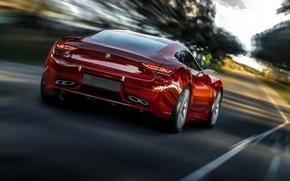 Картинка дорога, движение, скорость, BMW, 2013, Radion Concept