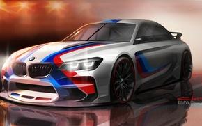 Картинка рисунок, бмв, арт, BMW Vision Gran Turismo