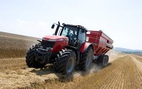 Картинка tractor, agriculture, farming, masseyferguson, 8690