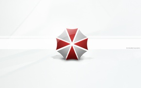 Resident Evil: Retribution, official wallpapers, umbrella corporation, Обитель зла 5: Возмездие, зонт, логотип обои