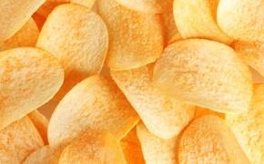 Обои чипсы, картошка, еда