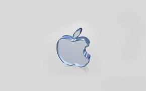 Обои apple, комп, бренд