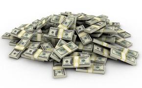 Картинка деньги, куча, баксы, Доллары