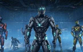 Картинка DLC, Sektor, Cyrax, Mortal Kombat X, Triborg, ending
