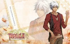 Картинка visual novel, амулет, bilal asad, wand of fortune, жезл фортуны, пояс, art, узор, kagerou usuba, ...