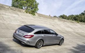 Картинка Mercedes, Shooting Brake, CLS63 AMG
