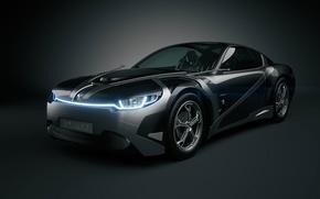 Картинка Car, Carbon, Concept Car, 3D Car, Everia, Tronatic