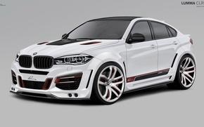 Картинка бмв, BMW, 2010, Lumma Design, X6 M