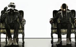 Картинка Музыка, Daft Punk, Электронная, Кресла