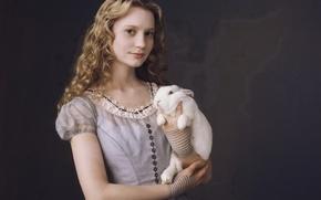 Картинка волосы, кролик, платье, Алиса, Миа, Васиковска